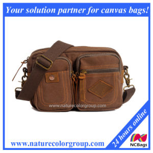 Outdoor Multifunctional Sport Camouflage Canvas Messenger Bag (MSB-035) pictures & photos