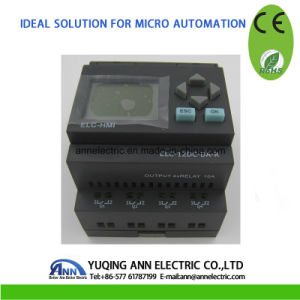 Micro PLC Controller Smart Relay Elc-12DC-Da-R-HMI Ce RoHS pictures & photos