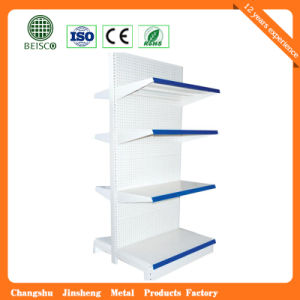 Durable Supermarket Display Rack with Back Holes pictures & photos