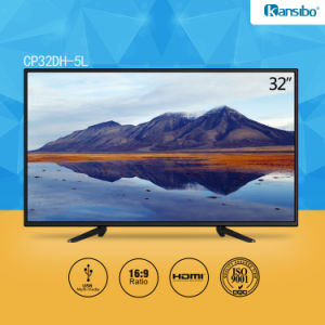 32-Inch Cheap Price Low Power Consumption LCD TV for Home/Hotel pictures & photos