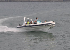 Liya 6.2m Fiberglass Rigid Inflatable Fishing Boat Center Console Boat pictures & photos
