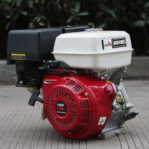 Bison (China) BS190f Big Fuel Tank Reliable 15HP Gasoline Engine pictures & photos