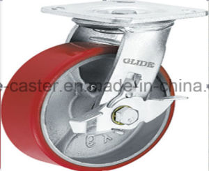 Heavy Duty Iron Core PU Caster (Y4209/ Y4210) pictures & photos