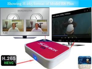 E8 Plus Box Android 6.0 TV Box 2g 8g Dual WiFi Kodi Smart TV IPTV Media Player Set Top Box in Stock pictures & photos