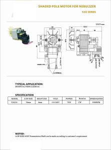 High Efficient Gearbox Fan Heater Tablet Refrigerator Ecm Electric Motor pictures & photos