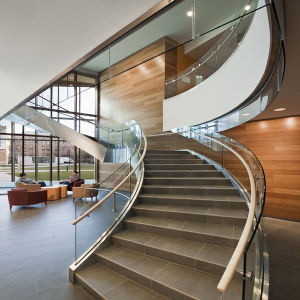 Stainless Steel Curved Staircase pictures & photos