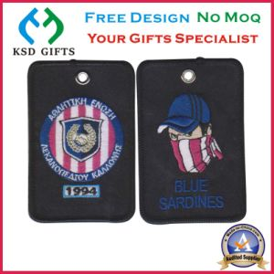 Football Club Clothing Labels/Woven Patch pictures & photos