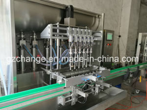 Bottle Lubricating Grease Oil Filling Capping Labeling Machine pictures & photos