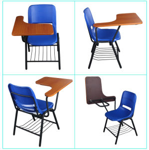 School Classroom Student Chair with Writing Pad pictures & photos