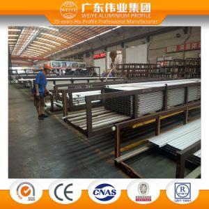 Weiye Anodized Aluminium Sliding Window Extrusion Profiles OEM and ODM pictures & photos
