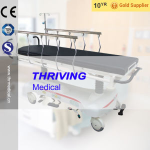 Luxurious Hydraulic Rise-and-Fall Stretcher Cart(THR-111B) pictures & photos