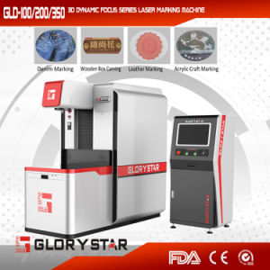 Widely Used 3D Dynamic Non-Metal Laser Marking Machine Price pictures & photos