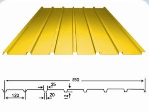 Corrugated Steel PU Panel for Steel Workshop Steel Grid Structure pictures & photos