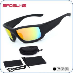 New Outdoor Dust-Proof Rubber Custom Logo Eyewear Ce En166 Sunglasses pictures & photos