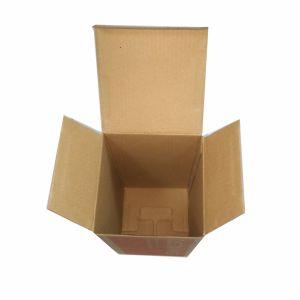 Kraft Shoes Paper Box (FP5059) pictures & photos