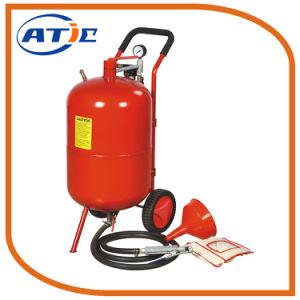 Sand Dustless Blasting Machine 20 Gallon Portable Sandblaster for Home Using pictures & photos