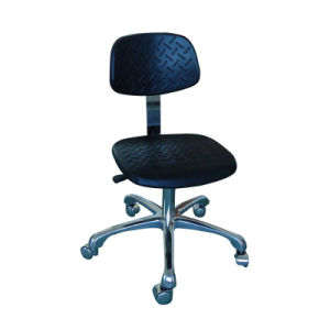 Cleanroom ESD Antistatic PU Foam Chair pictures & photos