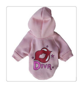 Heated Dog Jacket Soft and Comfortable Dog Outerwear Hoodie with Print & Applique pictures & photos