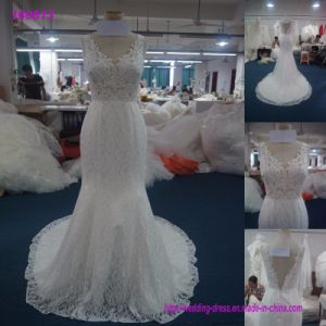 Elegant Wedding Dresses China High End Overlace Wedding Bridal Gown Bride Dress for Sale pictures & photos