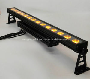 IP65 Waterproof RGBWA UV 6in1 14* 15W LED Wall Washer Light pictures & photos