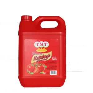 340g 5kg Tomato Ketchup in Plastic Bottle pictures & photos