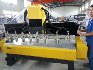 Machinery with 4 Head Spindle, 1600*2500*200mm Working Size CNC Woodworking Machine pictures & photos