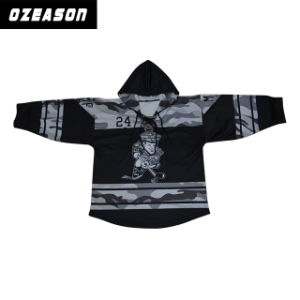 Custom Team Sublimated Hockey Hoodies/Hockey Jerseys (H002) pictures & photos