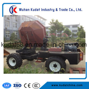 3000kgs 4WD Diesel Mini Concrete Dumper with 180 Return (SD30R) pictures & photos