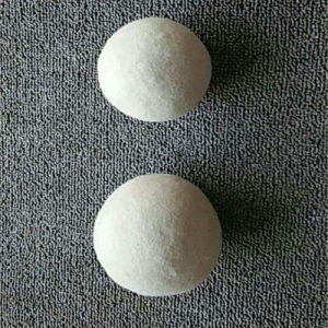 Handmade White Laundry Ball Fabric Softener Wool Dryer Ball pictures & photos