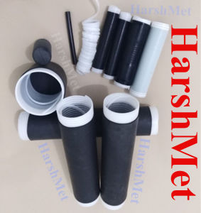 Black Cold Shrink Tubing, Grey Cold Shrink Tubing for Telecom pictures & photos