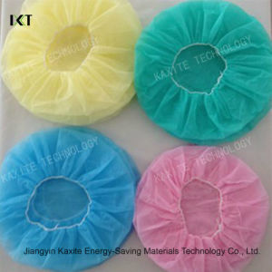 Disposable Bouffant Cap Mob Cap Ready Made Supplier Kxt-Bc07 pictures & photos