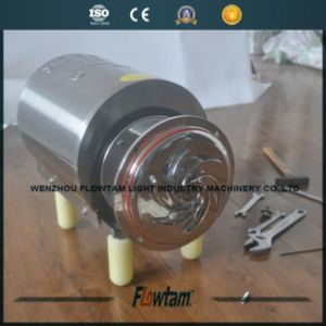Hot Sale Stainless Steel Centrifugal Pump for Liquid/Milk/Juice pictures & photos