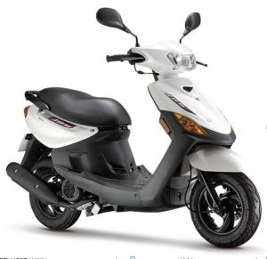 100cc Mini Gas Scooter Motorcycle (SL100-AB) pictures & photos