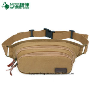 Men Multi-Functional Canvas Waist Bags Musette Bags pictures & photos