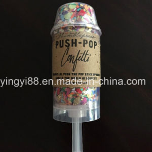 Wholesale Push Pop Confetti Great for Parties pictures & photos