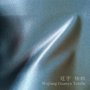Silk-Like Imitation Polyester Fabric for Curtain Uses pictures & photos