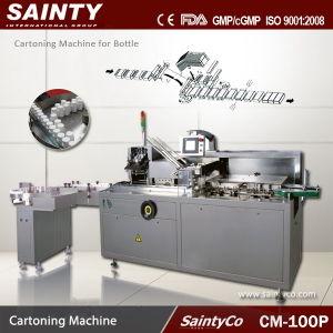 CM-100P GMP Approved Tea-Sachet Carton Packing Machine