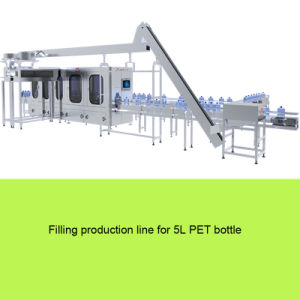 Pet 5L Bottled Water Washing Filling Capping 3 in 1 Combi Block