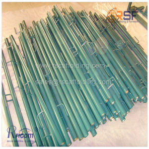 Galvanized Tubular Type Scaffold Guardrail Posts pictures & photos