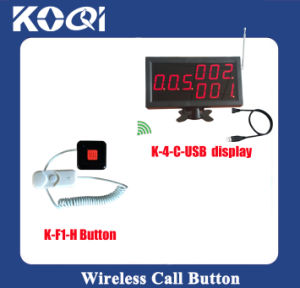 CE Approved USB Display Wireless Paging System for Hospital pictures & photos