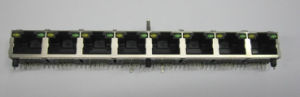 RJ45 Connectors with Magnetics and LED Light pictures & photos