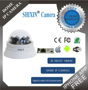 2 Megapixel CMOS IR-15m H. 264 HD Vandal Proof IP Network Surveillance Security Camera Dome (IP-2068-2) pictures & photos