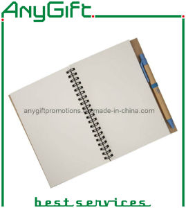 spiral Notebook with Customized Logo and Color pictures & photos