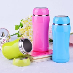 Stainless Steel Vacuum Flask Insulated Wide Mouth Thermal Water Bottle pictures & photos