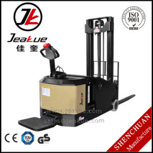 1.2t 1.5t Counterbalance Heavy Electric Pallet Stacker pictures & photos