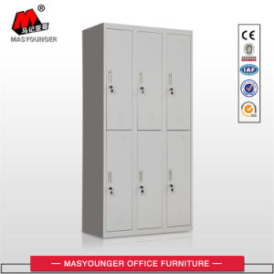 China Professional Manufacturer 6 Door Metal Storage Locker pictures & photos