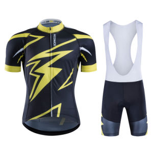 2016 New Customized Manufacturer Sublimated Breathable Cycling Jersey Set