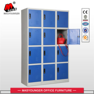 Factory Supply Flat Packing 12 Door Steel Storage Locker pictures & photos