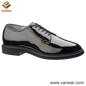 Leather Military Officer Shoes for Soliders and Police (WMS004) pictures & photos