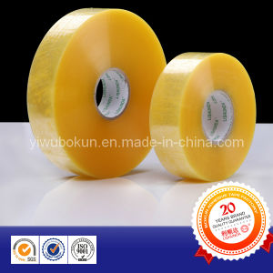 Jumbo Rolled Machine Transparent Packing Tape pictures & photos